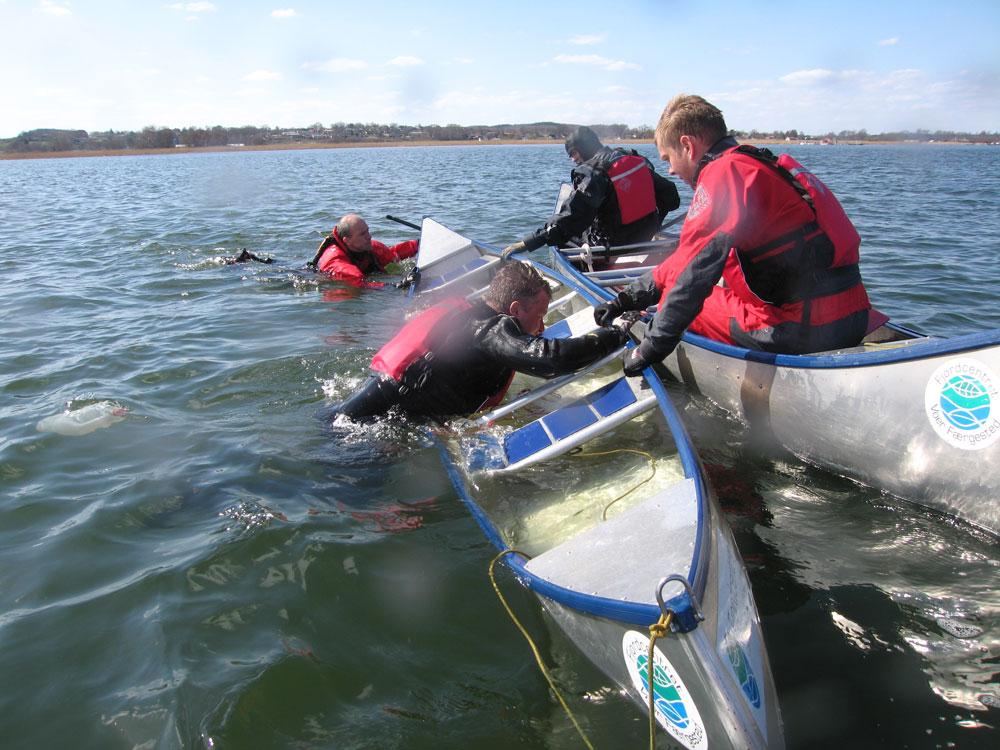 Personalet træner redninger og opdaterer sikkerhedsinstruks