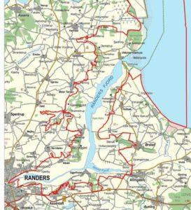 Naturpark plan for Randers fjord