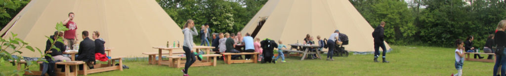 forskoler lejrskole i tipier og telte