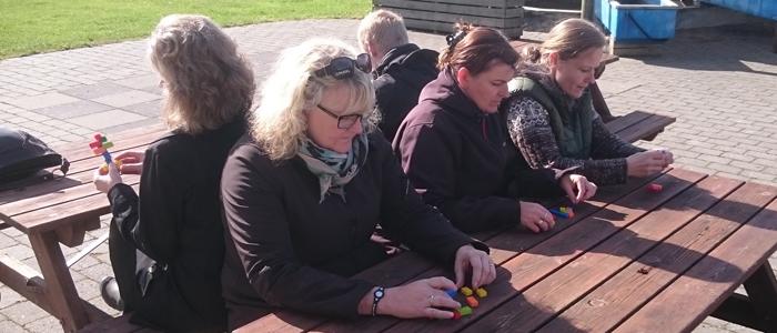 leg med lego med dine kollegaer