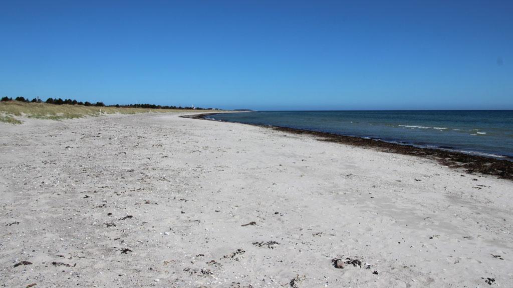 Grenaa strand er en af Danmarks bedste strande.