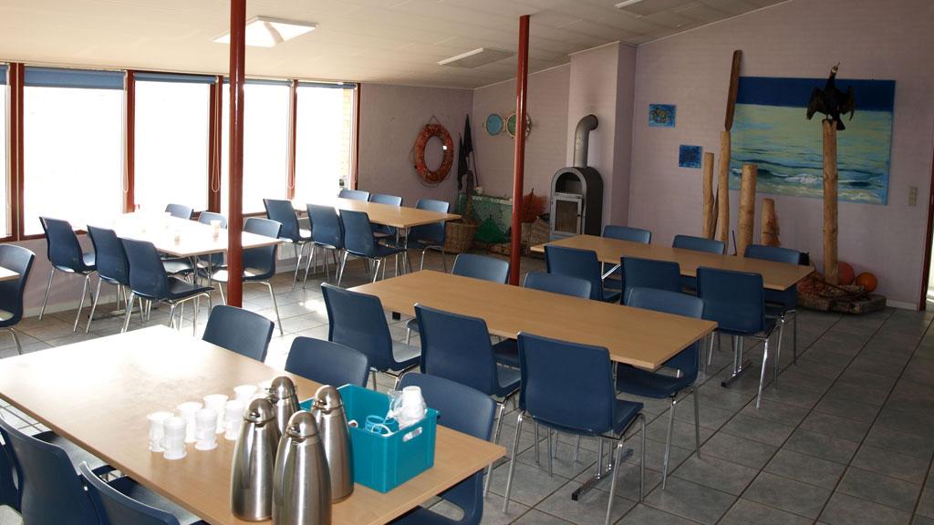 Det Blå lokale i Klithuset rummer 40 personer.