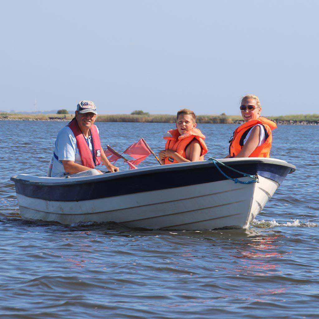 Bådudlejning på Randers Fjord